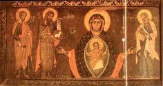 Maestro Francesco - Madonna Platytera fra tre santi - sec XIII - Venezia, Scuola di S. Giovanni Evangelista: