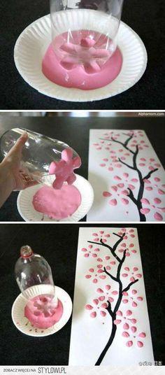 Handmade Cherry Blossom - Drzewko handmade na Stylowi.pl