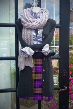 Hawick Knitwear Ladies Pink Orange Grey Striped 100/% Lambswool Knitted Scarf New