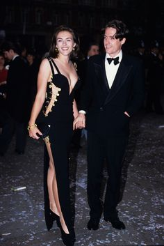 15 Red Carpet Looks That Changed Everything   #refinery29  http://www.refinery29.com/hollywood-red-carpet-gowns#slide-3  Elizabeth Hurley took the fairly tame dressing culture of the mid-'90s and shook it by its pleated-front foundations. The safety-pinned Versace number she wore to the Four Weddings and a Funeral premiere was appropriate for neither a wedding nor a funeral, but so sexy and in-your-face, we're sure nobody minded. Photo: Tim Rooke/Rex USA<...