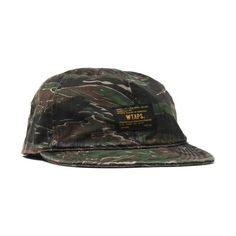 WTAPS A-3 / Cap Cotton Twill Tiger Stripe