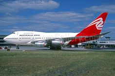 Australia Asia Airlines (QANTAS Airways) Boeing 747SP-38 VH-EAA (msn 22495) SYD (Jacques Guillem Collection). Image: 932035.