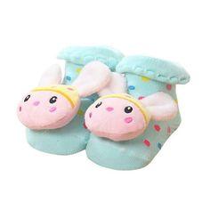 Baby Cartoon Anti Slip Cotton Socks