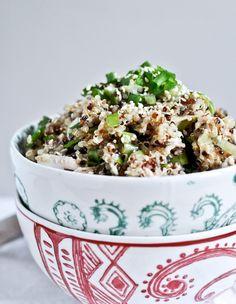 sesame chicken quinoa