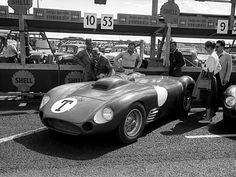 Villoresi / Maglioli / Moss´ Maserati 450S T-Car .Rabelövsbanan, Kristianstad, Sweden , Sveriges Grand Prix 1956