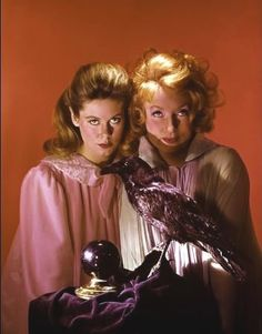 Samantha and Endora--Elizabeth Montgomery and Agnes Moorehead