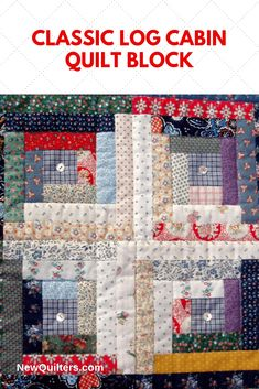 View a gallery of classic log cabin quilt blocks pieced in traditional and non-traditional styles and fabrics. Log Cabin Quilt Pattern, Log Cabin Quilts, Lap Quilts, Pattern Blocks, Amish Quilts, Block Patterns, Scrappy Quilts, Sewing Patterns, Amish Quilt Patterns