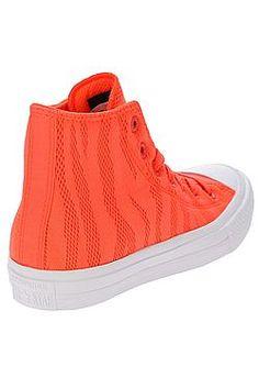 bbdc6c58711 boty Converse Chuck Taylor All Star II Hi - 155492 Hyper Orange White