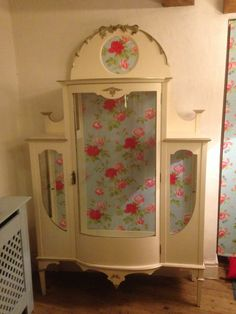 Shabby Chic Furniture Restoration Painted And Decoupage Before After Look