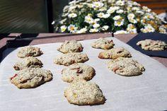 Rhabarber-Mohn Cookies