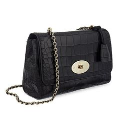 MULBERRY Medium Lily crocodile-effect leather shoulder bag