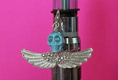Skull Vape Bling  Vapor Charm Ecig Charm Mod Charm Tank Charm Electronic Cigarette by VapingTreasures, $10.25