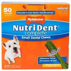 Nutri Dent Dental Chews Chicken, Small, 50 count