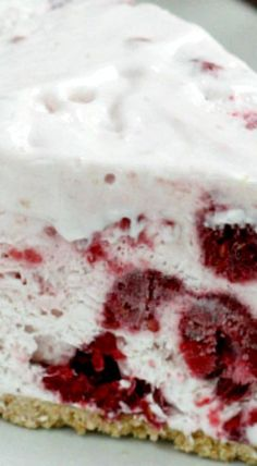 Raspberry Marshmallow Pie