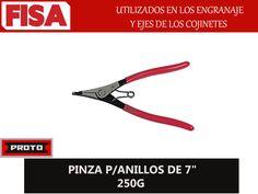 """PINZA P/ANILLOS DE 7"""" 250G. Utilizados en los engranajes y ejes de los cojinetes- FERRETERIA INDUSTRIAL -FISA S.A.S Carrera 25 # 17 - 64 Teléfono: 201 05 55 www.fisa.com.co/ Twitter:@FISA_Colombia Facebook: Ferreteria Industrial FISA Colombia"""