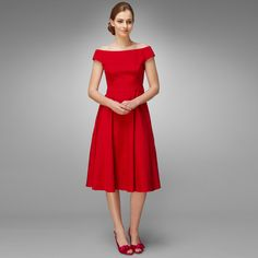 Bridesmaid Dress - Sweetheart Dress in Poppy by Phase Eight