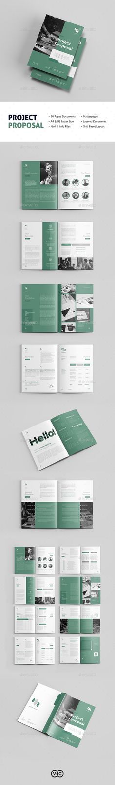 Professional Business Plan and Company Profile Template InDesign - professional business plan
