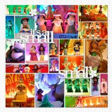 024. It's A Small World - MouseScrappers - Disney Scrapbooking Gallery