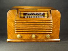 Philco Model 42 322 Antique Am SW Wood Cabinet Tube Radio from 1942 Restored | eBay