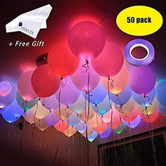 Ballons & Accessories Motivated 4pcs Colorful Led Bobo Balloon Set Transparent Glowing Helium Balloons Kids Toy Baby Birthday Wedding Party Bridal Shower Decors Good Heat Preservation
