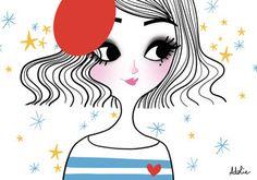 Pop Art, Art Mignon, Illustrations, Cool, Girly, Wall Sticker, Cute Art, Parisian, Birthday Cards