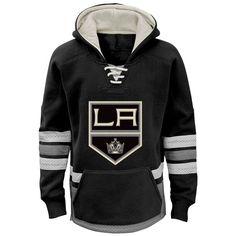 Los Angeles Kings Reebok Youth Retro Skate Hoodie - Black - $59.99