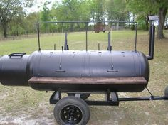 Custom built barbeque bbq pit smoker grill on by Susieqsurprises. These are my favorite Style Pit- Fire Box Separated from the Smoke Chamber. For cooking Low and Slow. Barrel Smoker, Bbq Pit Smoker, Fire Pit Grill, Barbecue Pit, Custom Bbq Grills, Smoker Designs, Bbq Equipment, Brick Bbq, Grillin And Chillin