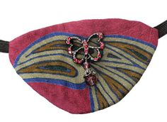 Jeweled Eye Patch Tropical Butterfly Victorian Steampunk