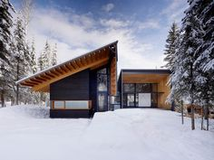 the Kicking Horse Residence