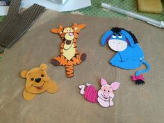 Disney characters from stampin up punches