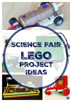 Science Fair Projects that use LEGO bricks Check out all the 28 Days of STEAM Projects for Kids for fun science, technology, engineering, art, and math activities!