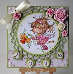 Daphne [SZWS165] - $8.50 : Whimsy Stamps