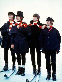 The Beatles in HELP! 1965