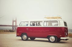 From Remain Simple: A few close friends and I took the most amazing tour of San Francisco the other day in this adorable cherry red VW bus. The company is owned by a young couple who truly wanted to share their love of SF and all it has to offer - which is a lot! Schedule a tour at http://vantigosf.com/. You won't be sorry!