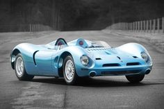 Produced in very small quantities, the P538 is one of the most rare Italian sports cars of its era. This particular 1965 Bizzarrini P538 is chassis no. 001, and is powered by a 327-cu.in. Chevrolet Corvette V8 engine paired with...