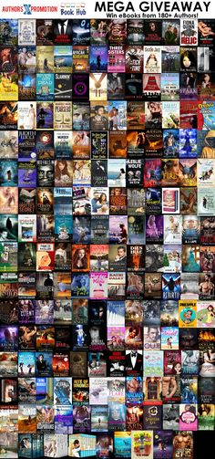 Enormous MEGA ebook GIVEAWAY! 180+ Authors giving away enough books to last the year!