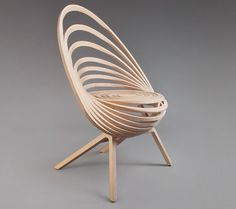 Octave Looping Plywood Chair By Estampille 52   Homeli