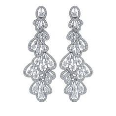 TF-ER513 Trefoil Long earring