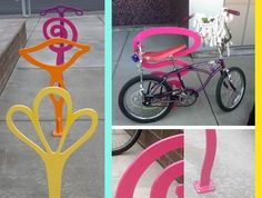 These IUD-Shaped Bike Racks In Oregon Make Us Want To Bust Out The 10-Speed
