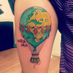 grahamdermagraphica  Hot air balloon from Saturday by Graham.