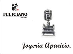 Hello Feliciamig@s. Feliciiano shows you one of our pendants of Zares collection, which we can buy in Aparicio jewelry,in  Ferrol, besides being able to buy in our jewelries in Palencia, España. This silver pendant is a Galician granary, where many year ago people used it like stock cereals. Bye bye