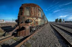 (FOTOS) El imparable deterioro del Orient Express, el lujoso tren que asombró a Europa en el siglo XIX