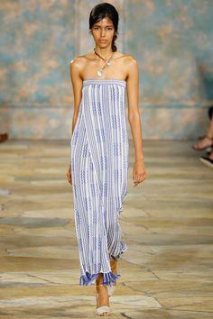 Tory Burch Spring 2016 Ready-to-Wear Fashion Show - Ine Neefs
