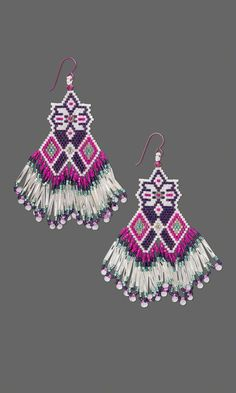 Jewelry Design - Earrings with Delica® Seed Beads - Fire Mountain Gems and Beads