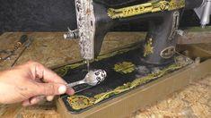 Что можно сделать из швейной машины - YouTube Metal Working Tools, Scrap Metal Art, Dremel, Leather Tooling, Woodworking Tools, Furniture Makeover, Wood Projects, Sewing, Youtube