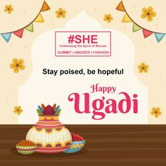 Prevail over the uncertain obstacles, be the harbinger of good health and happiness. Telugu New Year, Strength Of A Woman, Wednesday Motivation, Excellence Award, Women Empowerment, Celebration, Awards, Happiness, Health