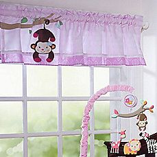 Lambs & Ivy® Jelly Bean Jungle Window Valance