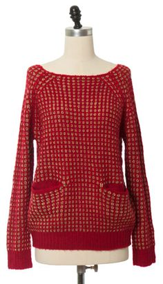 Red Spotted Sweater