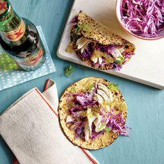 Chicken Verde Tacos | MyRecipes.com