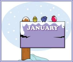 !¡ Hello! January Sign, Hello January, Classroom Clipart, Free Clipart Images, Zodiac Signs, Calendar, Family Guy, Clip Art, Lettering